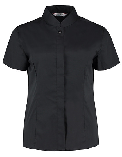 K736 Bargear Women´s Bar Shirt Mandarin Collar Shortsleeve